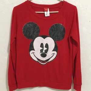 Disney M (7/9) long sleeve Mickey Mouse Tee